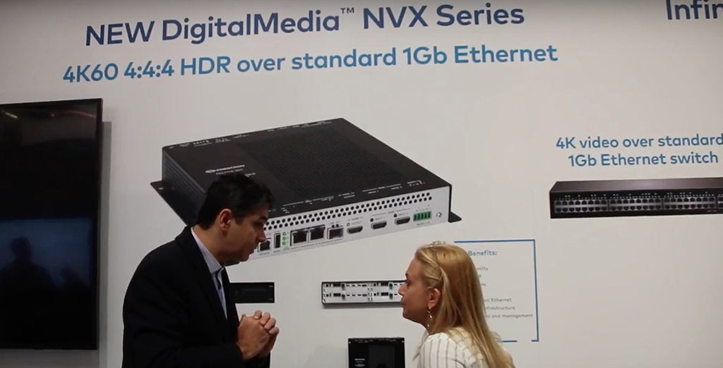 The NVX series is a very important transition for Crestron