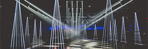 The Bootshaus nightclub accompanies its electronic music sessions with spectacular visual effects