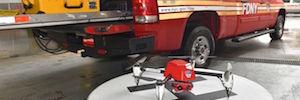 Transmisión de vídeo en vivo de incendios y con drones para formar y mejorar la toma decisiones