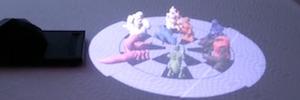 Holografías e imágenes 3D sin necesidad de gafas de realidad virtual con HoloLamp