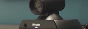 Lifesize 450 Icon: videocamera con area immagine intelligente