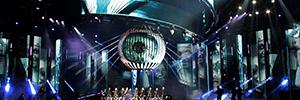 Una espectacular puesta en escena con tecnología Led acompañó al Festival Viña del Mar