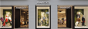 Mango sigue apostando por su nuevo concepto de tienda digital en la flagship store de Serrano