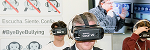 MECD Samsung and launch a virtual reality project to combat bullying