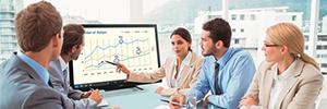 Sharp lleva la tecnología interactiva a los pequeños espacios con la pantalla PN-L401C