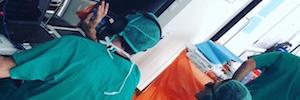 Tecnicongress y Christie realizan la primera retransmisión de cirugía de vitrectomía 3D en España