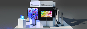 Eyevis go to Prolight + Sound 2017 with its most innovative 4K LCD video walls
