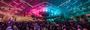 Insomniac music festivals with stage lighting designs its Elation Professional