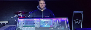 Allen & Heath dLive: new digital mixing music school TAF