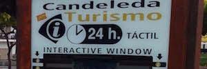 Turismo24horas amplía su red digital de pantallas interactivas turísticas