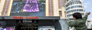 Callao City Lights and augmented reality Wildbytes lead permanently to the Plaza del Callao