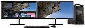 HP introduces new monitors with DreamColor technology and 4K resolution Cinema