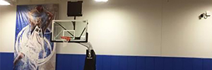 The Dallas Mavericks monitor your workouts with robotic cameras from JVC