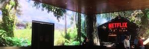Netflix sumerge en sus series con un videowall Led 13K a los visitantes de su nueva sede en LA