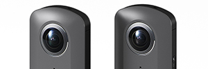 Ricoh presents the prototype of a 360 camera with video capture 4K