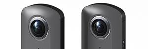 Ricoh presenta el prototipo de una cámara 360º con captura de vídeo en 4K