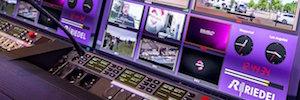 Riedel despliega las ventajas del intercom Bolero y de su multipantalla virtual en NAB 2017