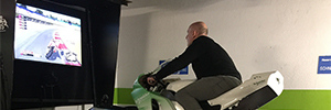 Schneider and XBS develop a simulator that reproduces the thrill of riding a Moto GP