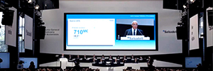 Sono AV supplied the equipment for the General Shareholders' Meeting of Banco Sabadell