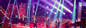 El programa de TV3 'Oh Happy Day' contó con la asistencia de sonorización de Shure