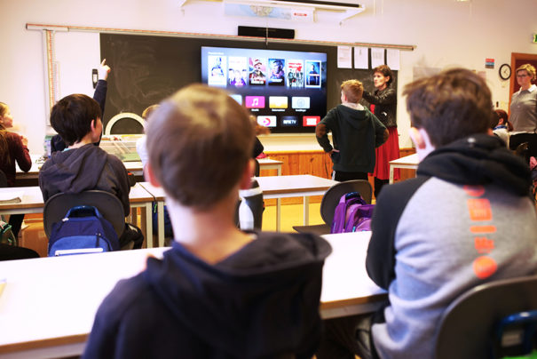 Sony Bravia centros educativos Baerum