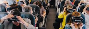 Realidad virtual a 30.000 pies de altura para promocionar el Año Jubilar Lebaniego