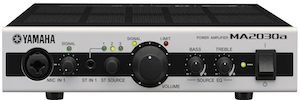 Yamaha presents its updated power amplifiers: MA2030a and PA2030a