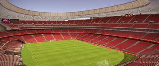 Atletico Madrid wanda Metropolitano LG