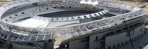 Atlético de Madrid confía en LG Partner 360 la innovación AV del estadio Wanda Metropolitano