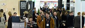 Beabloo acudirá con sus soluciones de digital signage a la cita con el retail que se celebrará en Londres