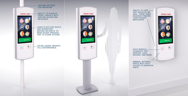 BrightSign y Felbro kiosco para QSR