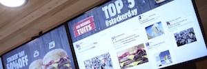 Burger King combina en tiempo real sus menu boards con redes sociales en el 'día de descuentos'