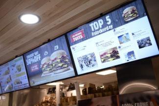 Burger King Sia interactive