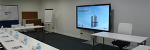 Charmex supplies the AV equipment for the new BMW Ibérica training rooms