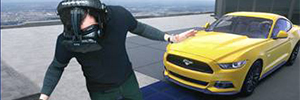 Ford Mustang can assemble virtually roof Empire State Building