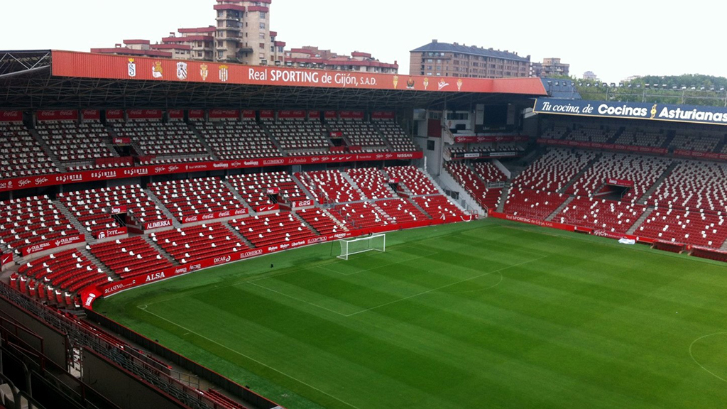 Bose Sound System >> Stadium Sporting Gijon installed a distributed system speakers for great sound
