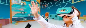 'El gran reto': realidad virtual para grupos aplicada a la educación de inMediaStudio