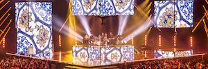 Suiza celebra sus Premios de la Música 2017 con un espectacular diseño de iluminación