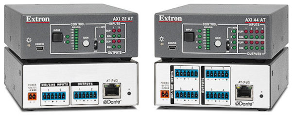 Extron axi22at y axi44at