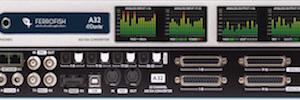 Ferrofish A32: conversor para gestionar redes de audio Dante en instalaciones fijas y en vivo
