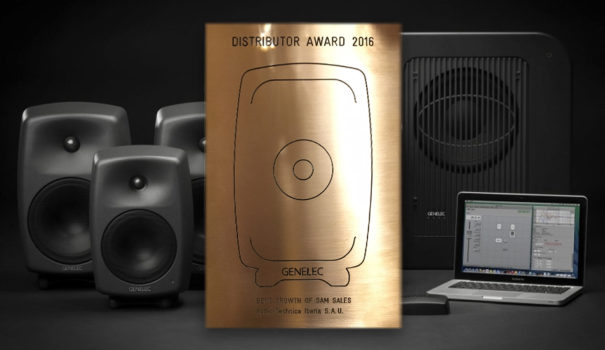 Genelec premio Audio-Technica Iberia