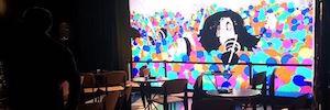 El hotel Only YOU Atocha instala una pantalla Led de gran formato como soporte de comunicación