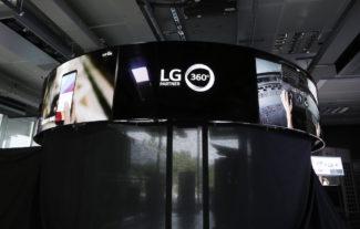LG Oled curvo experience center