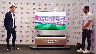 LG Wallpaper acuerdo Atletico de Madrid
