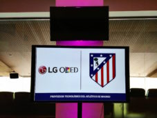 LG et l'Atletico de Madrid accord Wanda Metropolitano