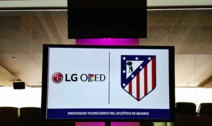 LG y Atletico de Madrid acuerdo Wanda Metropolitano