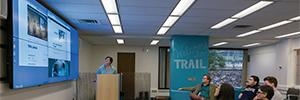 La Universidad de Washington instala un gran videowall en su nueva sala de colaboración multidisciplinar