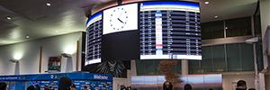 El aeropuerto JFK instala una nueva pantalla de digital signage en la Terminal 4