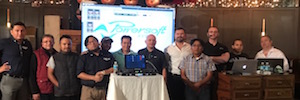 Powersoft toured training amplifier technology for Latin America
