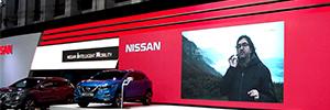 Nissan acudió a Automobile Barcelona 2017 con un vanguardista stand AV
